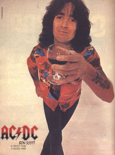 Bon Scott Net Worth