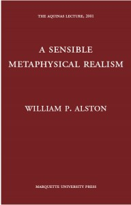 A Sensible Metaphysical Realism