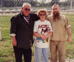 Steven Avery with his parents