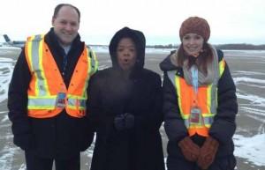 Oprah in Edmonton