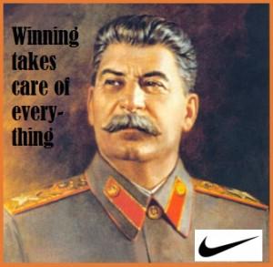 Stalin Nike ad