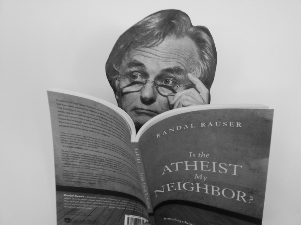 Richard Dawkins reading my book