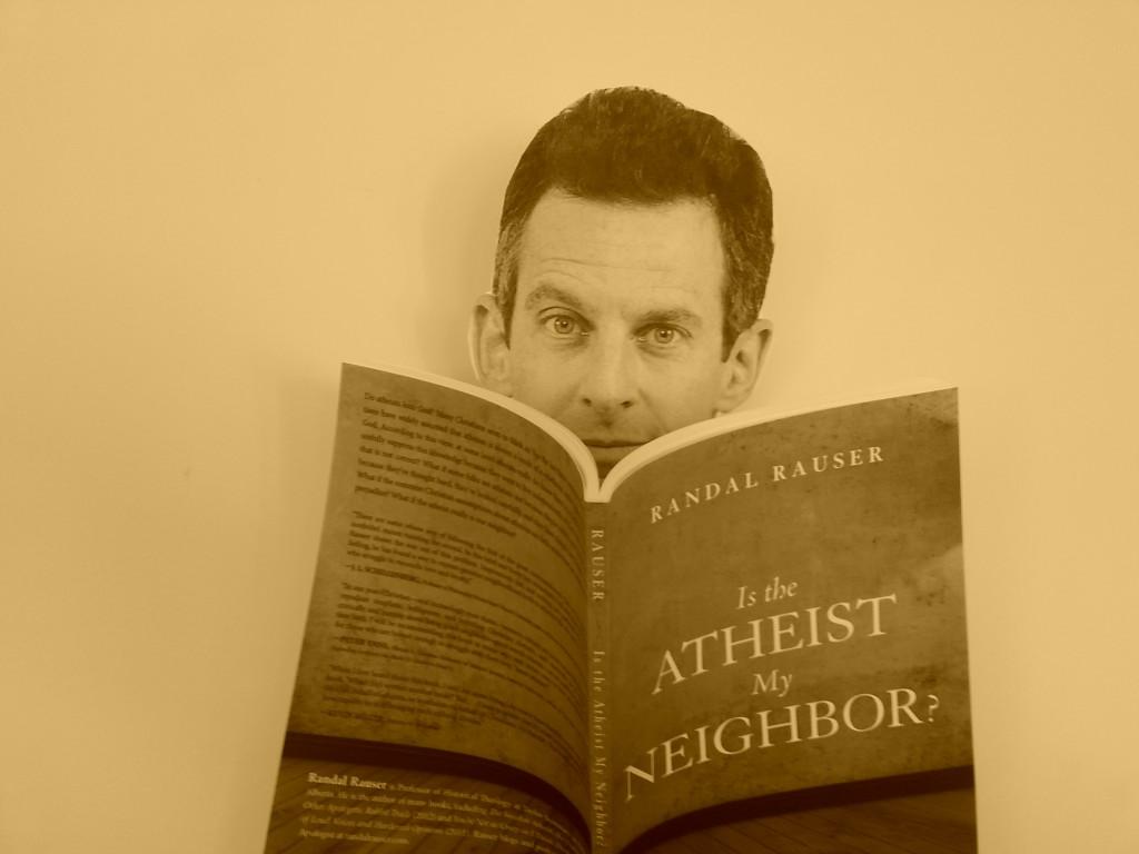 Sam Harris reading my book
