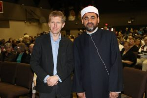 Andy Bannister and Imam Sherif