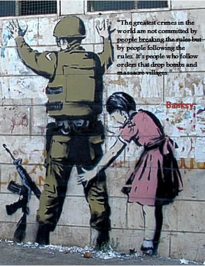 Banksy Thought of the Day