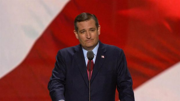 Ted Cruz at the Convention